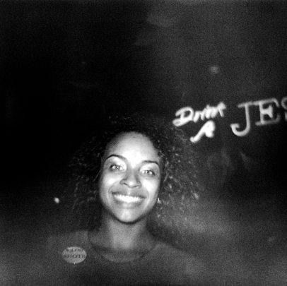 Shots Girl on Bourbon Street - Diana F+