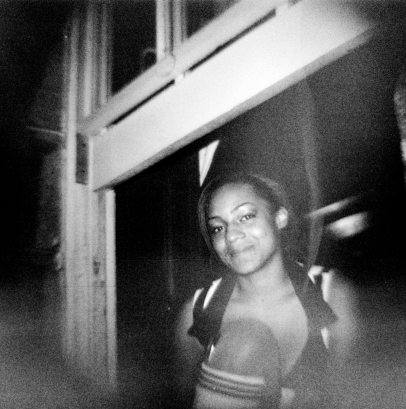 Sports Bar Girl on Bourbon Street - Diana F+